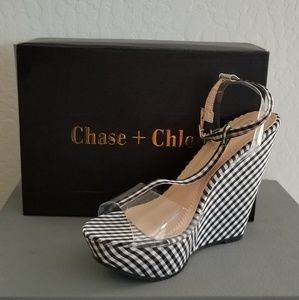 🆕Chase + Chloe Wedges Sz. 8.5